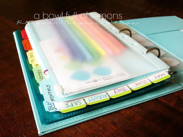 Planner organization a bowl full of lemons for Home planning binder