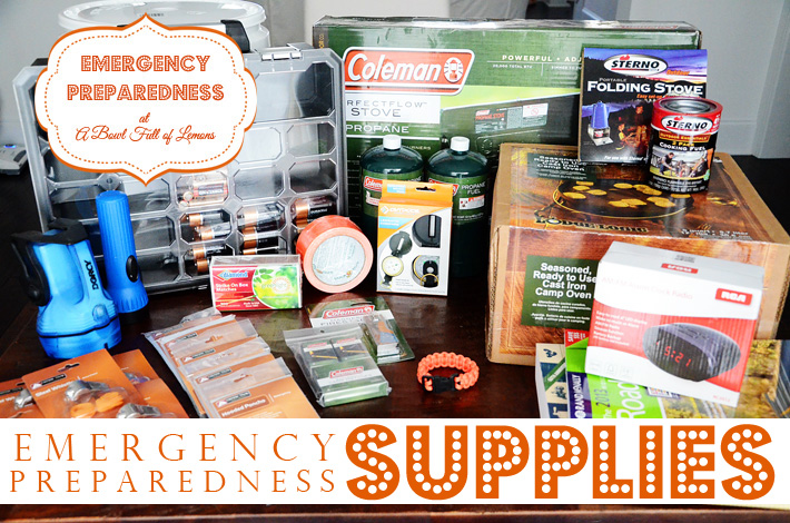 Emergency Preparedness supplies - ABFOL