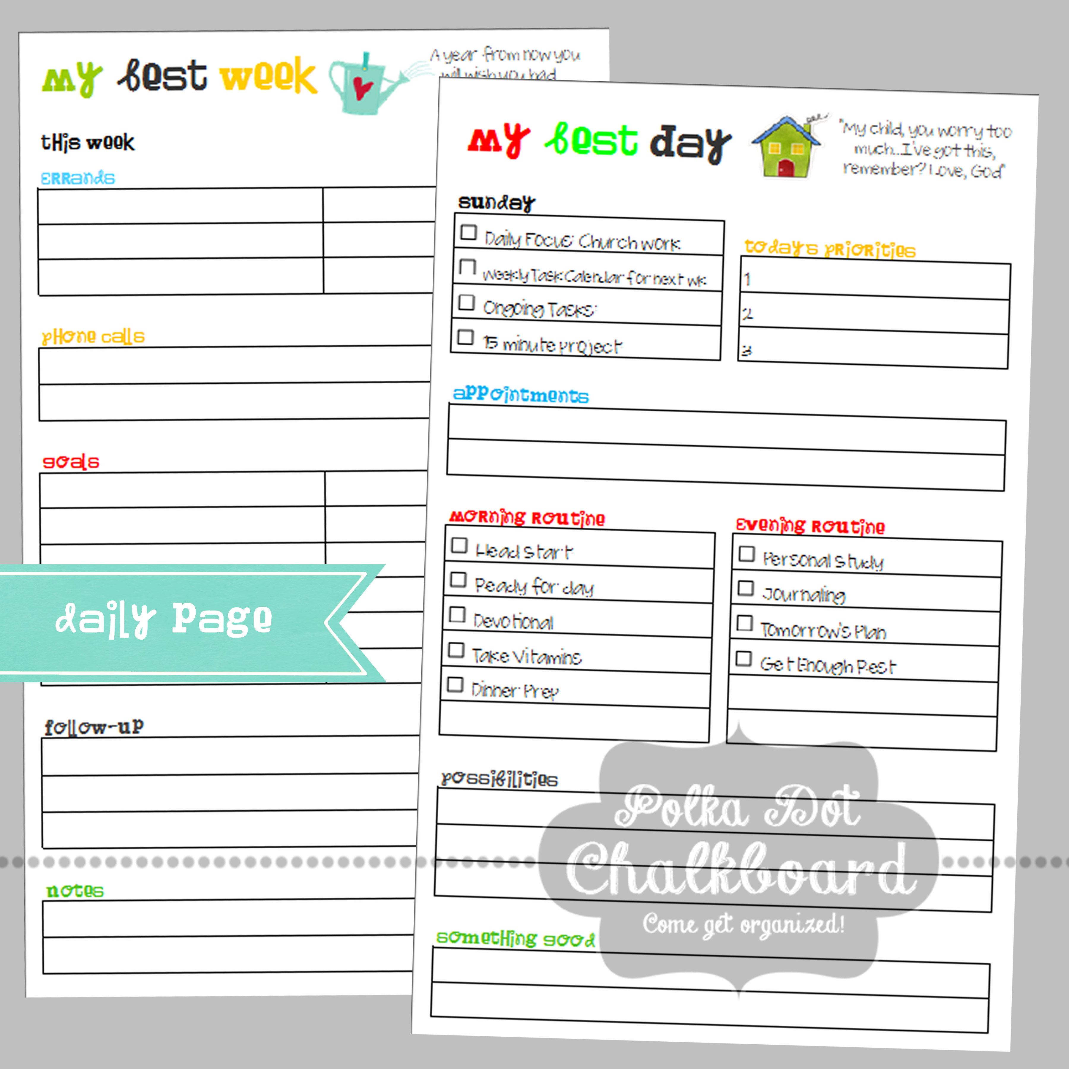 Evernote daily planner template gallery templates design ideas organized planners a bowl full of lemons do pronofoot35fo gallery pronofoot35fo Choice Image
