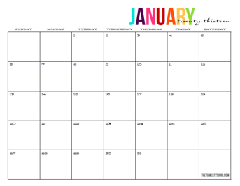 Free Full Page Monthly 2011 Calendar | Search Results | Calendar 2015