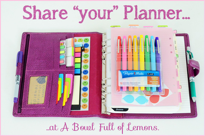 Organized Planners A Bowl Full Of Lemons
