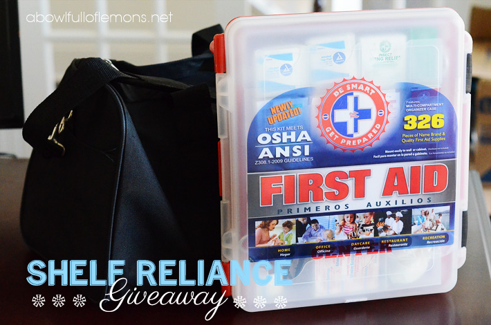 Shelf Reliance Giveaway ABFOL