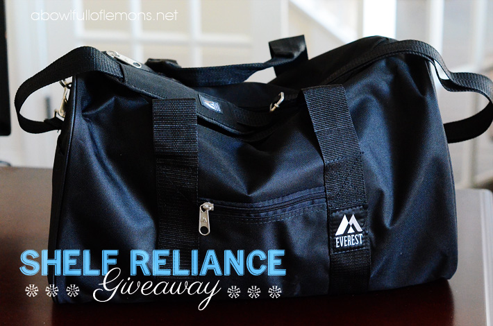 Shelf reliance giveaway 2