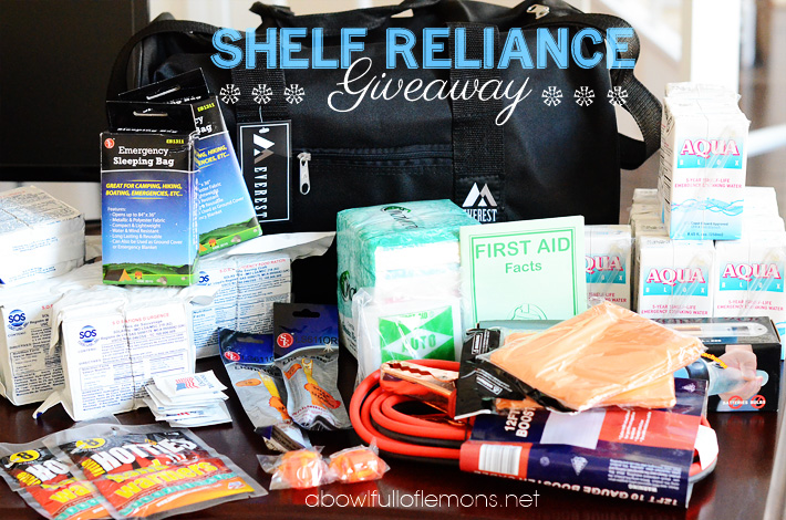Shelf Reliance Giveaway 4