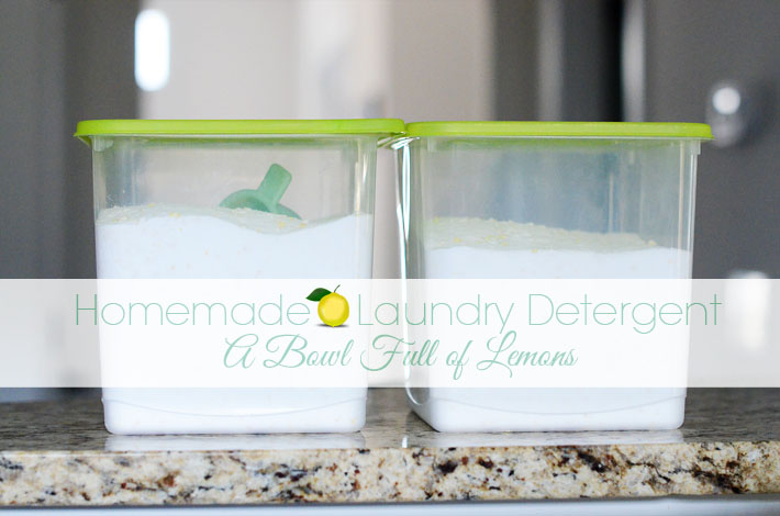 Homemade laundry detergent abfol