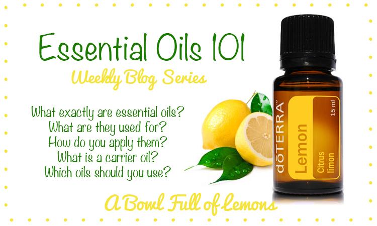 Essential oils 101…