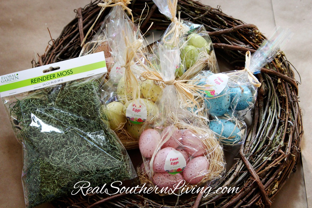 Supplies-for-Easter-Egg-Wreath-www.RealSouthernLiving.com_