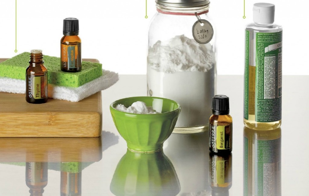 Cleaning with doTERRA oils