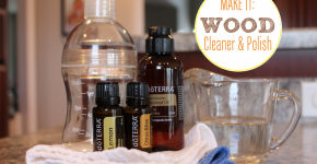 How to make homemade wood cleaner &amp; polish using essential oils - A Bowl Full of Lemons