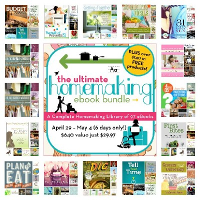 Ultimate Homemaking Ebook Bundle (97 E-Books) at 95% off - A Bowl Full of Lemons