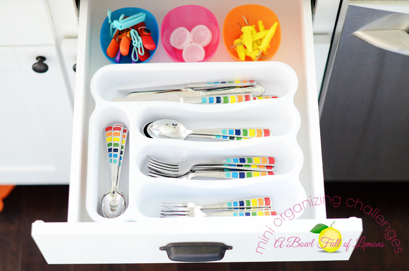 Mini Organizing Challenge ABFOL - Utensil Drawer
