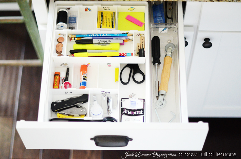 Mini Organizing Challenge Junk Drawer 2w