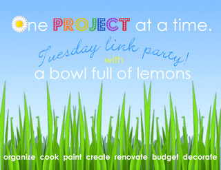 One Project at a Time Link party - ABFOL