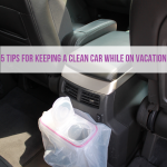5 Tips for keeping a clean car while on vacation