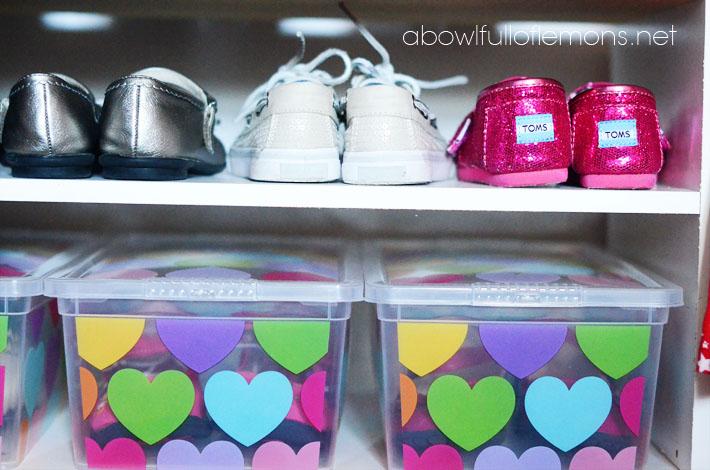 Kids closet organization - ABFOL