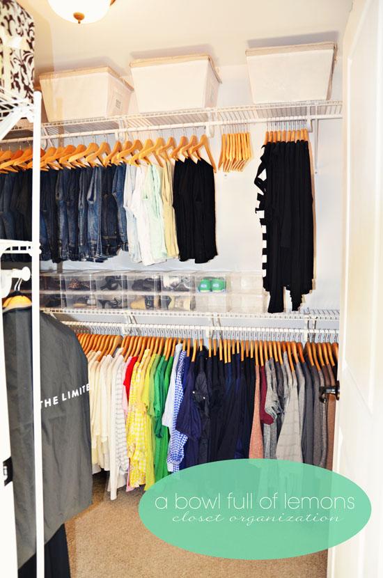 mastet closet organization ABFOL