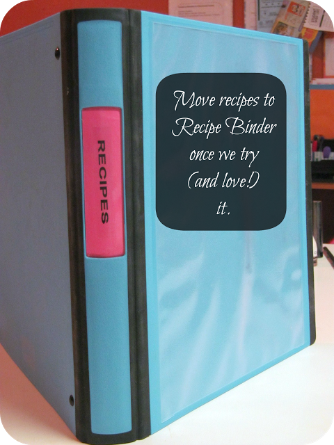 Recipe Binder- Link party on A Bowl Full of Lemons