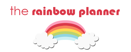Rainbow Planner - A Bowl Full of Lemons