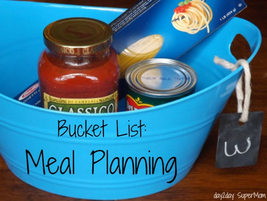 meal planning- link party on A Bowl Full of Lemons