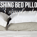 Washing Bed Pillows in 3 Simple Steps