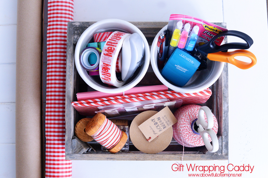 Gift Wrapping Caddy ABFOL 2w