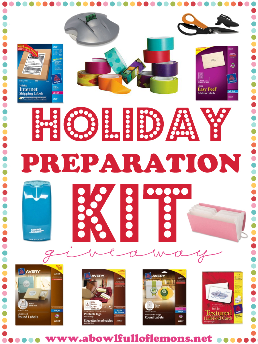 Holiday Preparation Kit Giveaway ABFOL