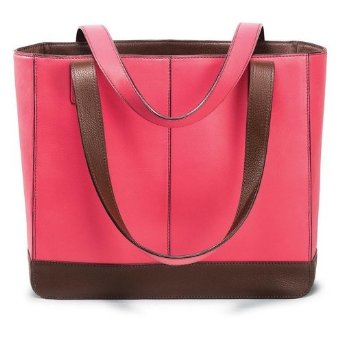day timer leather tote - ABFOL