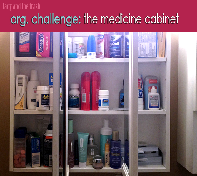 Exceptionnel Medicine Cabinet Organization  Link Party On A Bowl Full Of Lemons