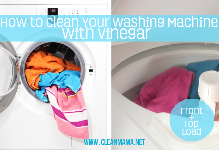 How to Clean Your Washing Machine with Vinegar | A Bowl Full