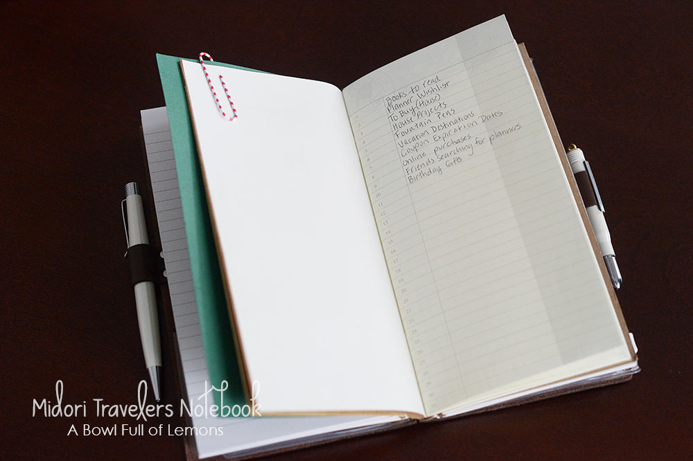 how to add charm to travelers notebook