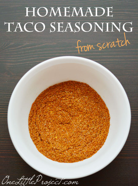 taco seasoning from scratch