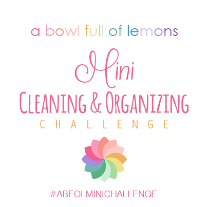 ABFOL Mini Cleaning & Organizing FB Challenges
