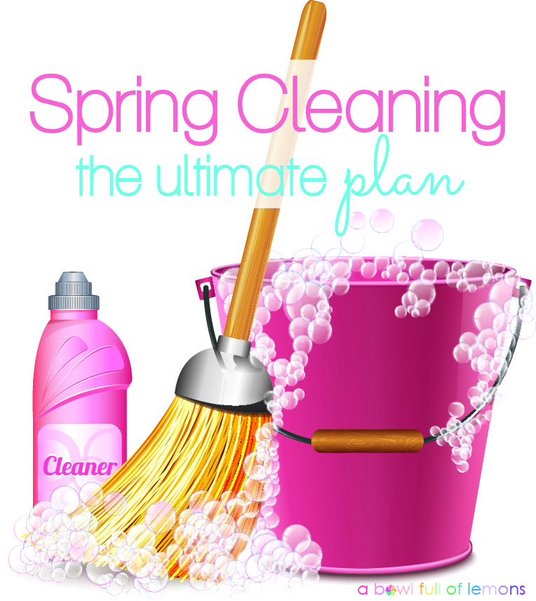 The ultimate spring cleaning plan a bowl full of lemons - Five easy cleaning tips get some time for yourself ...