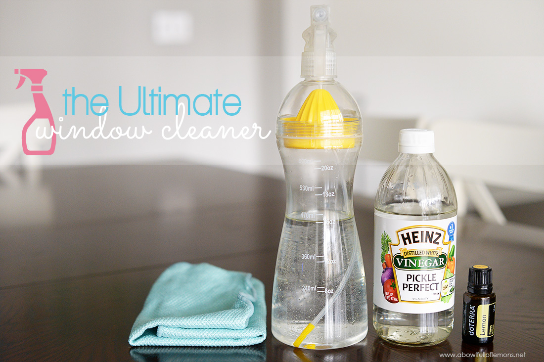 Save a ton of money by making your own homemade cleaners - The ultimate window cleaning recipe by A Bowl Full of Lemons