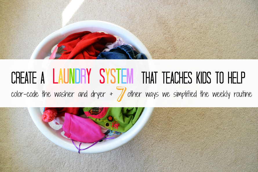 teach-kids-to-wash-clothes- Link Party on A Bowl Full of Lemons