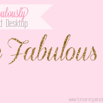 A Fabulously Organised Desktop