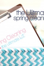 The ultimate spring cleaning printables kit by A Bowl Full of Lemons
