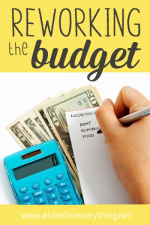 reworking the budget
