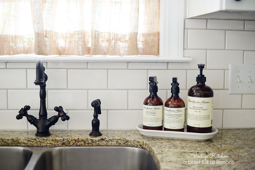 Adding vintage character to a new kitchen – Retro Kitchen Faucet