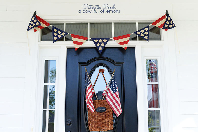 Patriotic Porch via A Bowl Full of Lemons 7