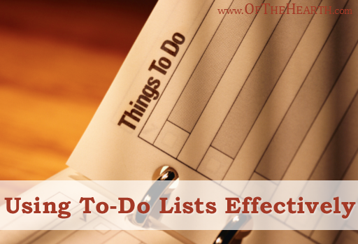 Using-To-Do-Lists-Effectively
