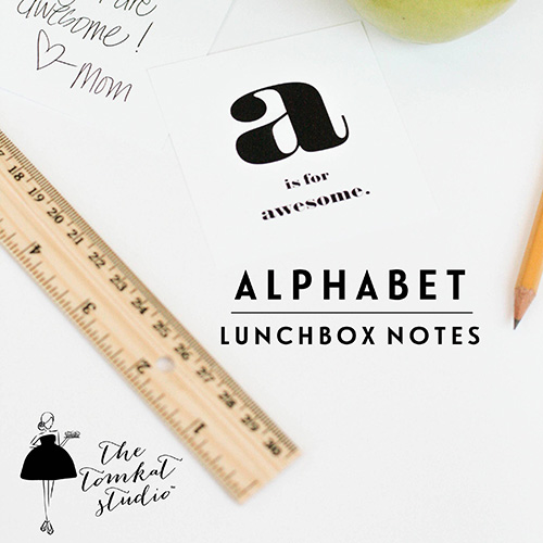 Tomkat Studio Lunchbox Notes