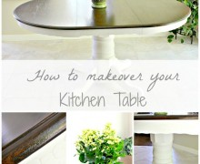 How to give your kitchen table a makeover