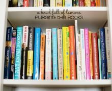 Purging Books via A Bowl Full of Lemons