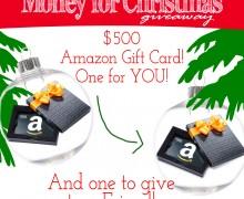 Money for Christmas via A Bowl Full of Lemons