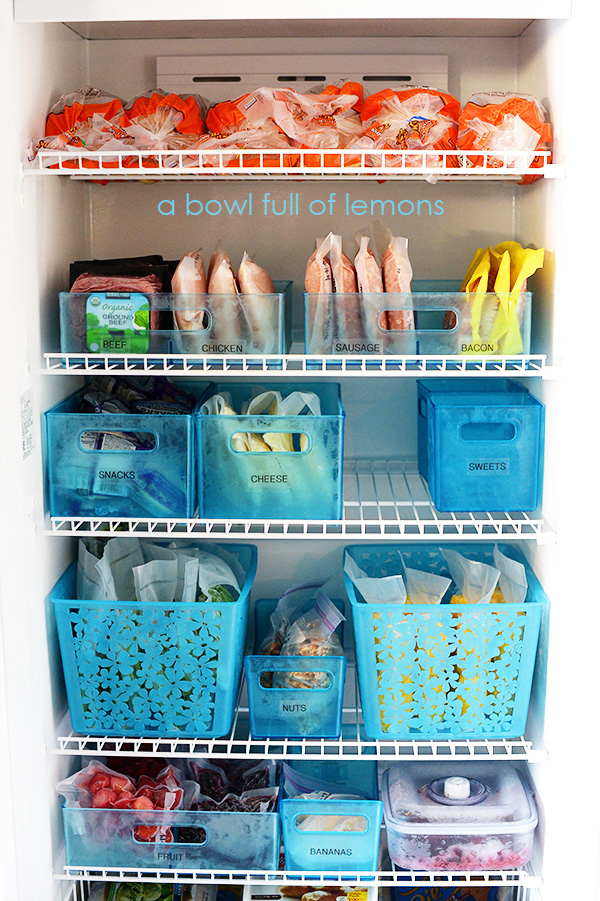 Fantastic Freezer Organization | A Bowl Full of Lemons UL76
