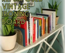 vintage-wood-ironing-board-repurposed-into-bookshelf-living-room-makeover-the-diy-homegirl-001