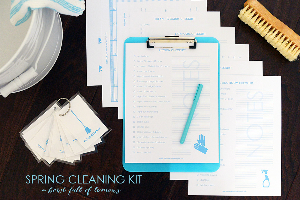 Spring Cleaning Printable Bundle Morganize With Me