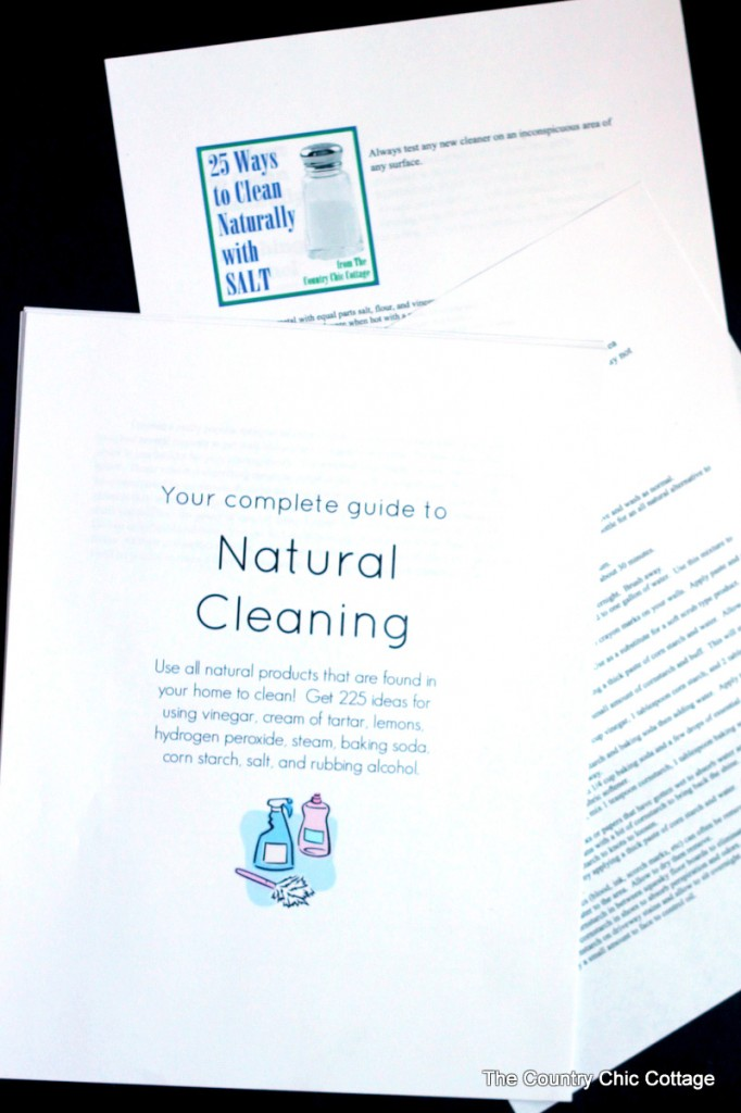 Your complete guide to natural cleaning picture