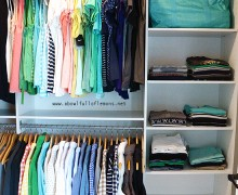 Week 12 Master Closet Organization via ABFOL